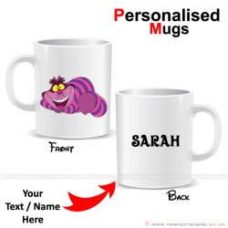 Cheshire Cat Disney Cartoon Character Personalised Mug