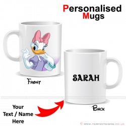 Daisy Duck Disney Cartoon Character Personalised Mug