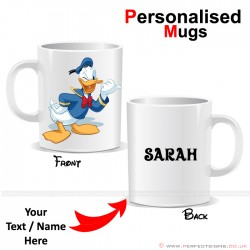 Donald Duck Wink Disney Cartoon Character Personalised Mug