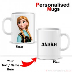 Frozen Anna Disney Cartoon Character Personalised Mug