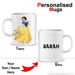 Snow White Disney Cartoon Character Personalised Printed Mug