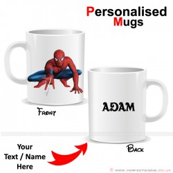 Spiderman Marvel Disney Cartoon Character Personalised Printed Mug