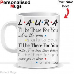 Personalised Friends Tv Show Mug