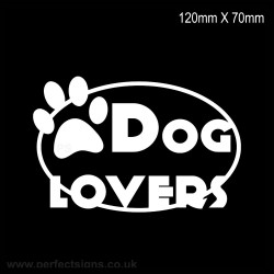 Dog Lover Sticker