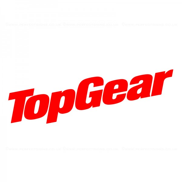 TOP GEAR Sticker