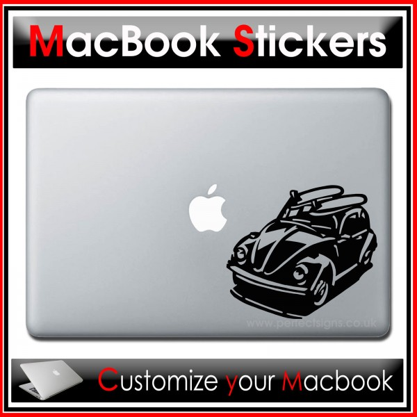 Beetle Car Vinyl Decal Sticker