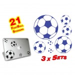 21 Football Stickers
