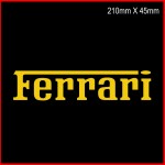Ferrari Sticker