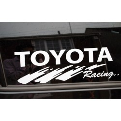 Toyota Racing Sticker