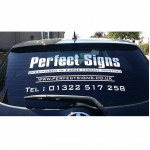 Car Rear Window Stickers Advertising Vinyl Signs Graphics Decals