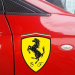 Ferrari Shield Sticker