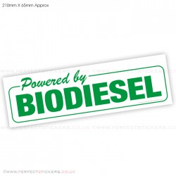 Powered By BioDiesel Sticker