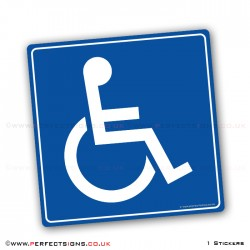 Disabled Blue Badge Sticker