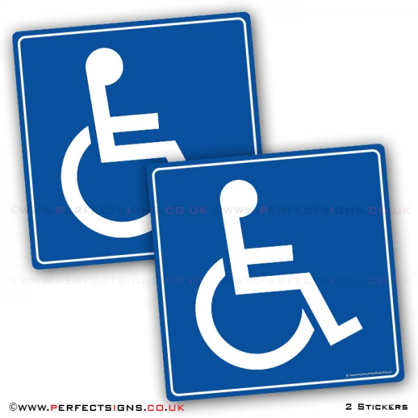 Disabled Blue Badge Stickers