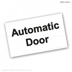 Automatic Door Small Sticker