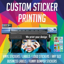 Sticker Printing Gloss Stickers